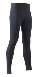Men's long johns, cotton - black