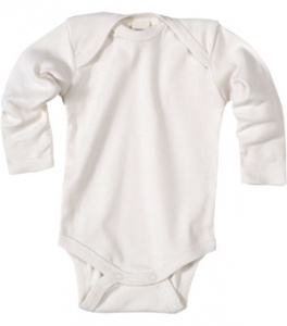 Baby body long-sleeved, cotton