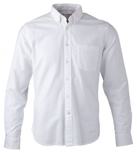 """Button Down Oxford Shirt"" - weiß"