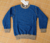 Pulli, Frottee (Wolle) - light ocean/sand