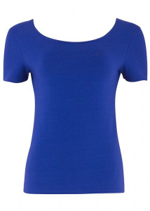 Paige Scoop Top In Blue