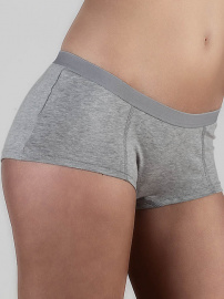 Damen Boyshort - grau