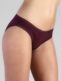 Ladies Panties - aubergine
