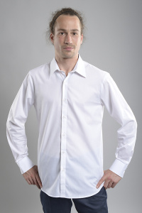 "Herrenhemd ""André"" (slim fit) - weiß"