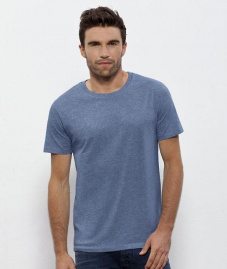 "T-Shirt ""Stanley Leads"" - mid heather blue"