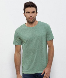 "T-Shirt ""Stanley Leads"" - mid heather green"