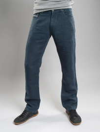 Jeans en chanvre - anthracite