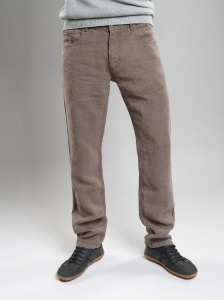 Hemp-Jeans - tobacco