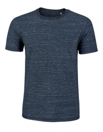 "T-Shirt ""Stanley Hips"" - dark heather denim"