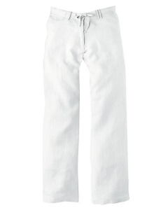 Ladies Summer Pants (Hanf) - white