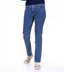 "Bleed ""Slim Jeans Ladies"" (vegan) - stone washed"