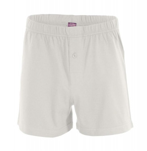 Men's Boxer Short, wide - natural white