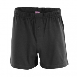 Men's Boxer Short, wide - black