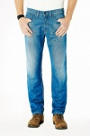 "Kuyichi Jeans ""Scott"" - clean blue (Leinen)"