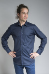 "Hemd ""Polar Night"" (slim fit) - dunkelblau"