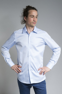 "Hemd ""Blue Sky"" (slim fit) - hellblau"