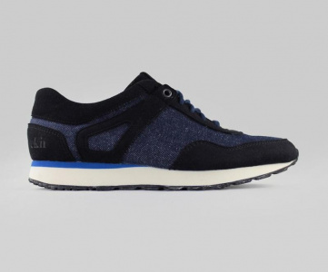 "Schuh ""Low Seed Runner"" - denim"