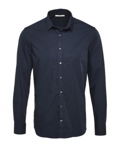 "Hemd ""Metro Shirt Slim"" - navy"
