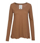 "Longsleeve ""Holly"" - cognac"