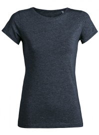"T-Shirt ""Stella Wants"" - dark heather denim"