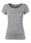 "T-Shirt ""Stella Wants"" - slub heather grey"
