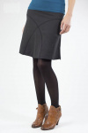 Daily Skirt (hemp) - black