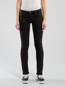 "Nudie Jeans ""Long John"" - black black - schwarz"