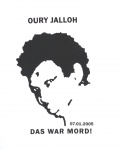 "T-Shirt ""Oury Jalloh"""