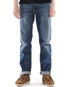 "Nudie Jeans ""Steady Eddie"" - true classic - indigoblau"