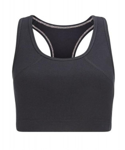 Yoga Crop Top - schwarz