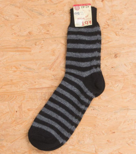 Woolen Sock - black/anthracite