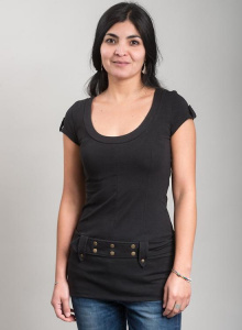 Samsara Tunic - black