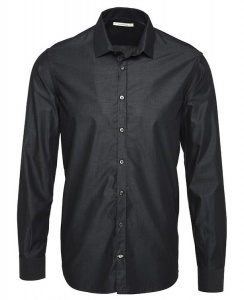 "Hemd ""Metro Shirt Slim"" - anthracite"