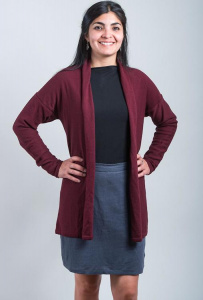 Cardigan Lucie - bordeaux