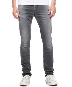 "K.O.I. Jeans ""James"" - grey worn well"