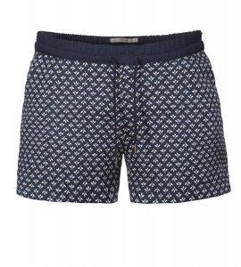 "Hose ""Lotti Tile Flowers"" - navy"