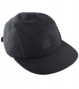 Five Panel Cap - schwarz