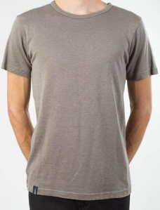 "T-Shirt ""Boy Tee Blanco"" - gris"