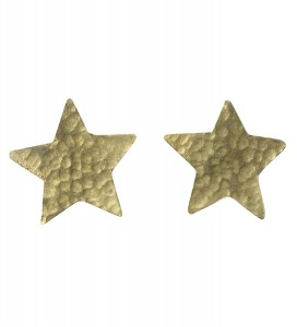 "Ohrstecker ""Star Stud"" - messing"