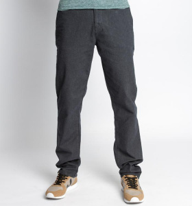 Flanell Twill Chino - total eclipse