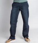 "Pantalon Chino ""Relaxed Fit Worker"" - bleu foncé"
