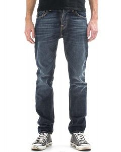 "Nudie Jeans ""Steady Eddie"" - rich contrast - blau"