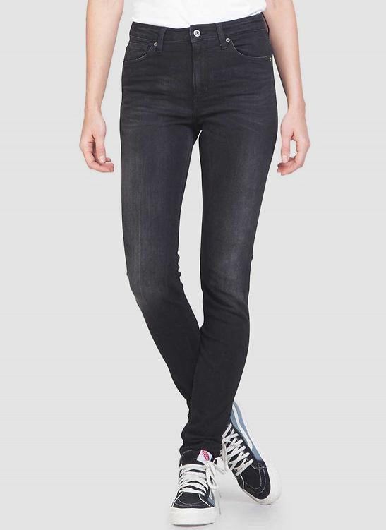 "K.O.I. Jeans ""Christina"" - black worn in - schwarz"