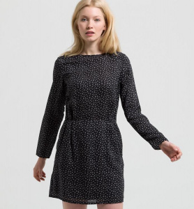 "Dress ""Josefine Dizzy Strokes"" - black"
