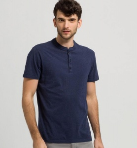 "T-Shirt ""Smith"" - navy melange"