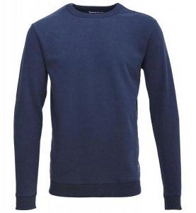 Sweatshirt mit Fleece-Innenseite - navy