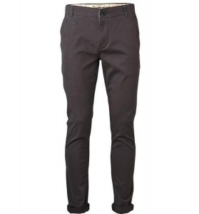 Slim Fit Stretch Chinos - dunkelgrau
