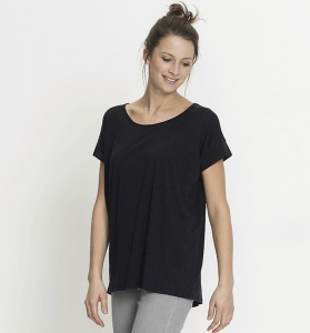 Loose Tee Tencel - navy