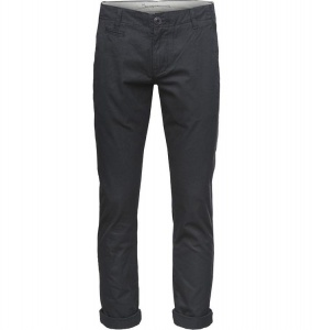 Twisted Twill Chinos (Vegan) - grauschwarz