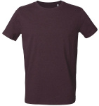 "T-Shirt ""Stanley Leads"" - mauve chiné"